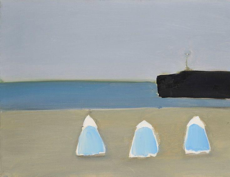 Nicolas de Stael (1914-1955) Calais, 1954