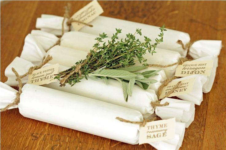 Seasonal Compound Butters Gift Idea + Recipes.