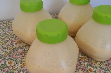Crèmes vanille à boire comme les Mont Blanc récré O'lé
