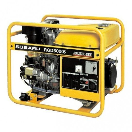 There's one word to describe this generator: tough. Powered by Suburu, this generator packs diesel reliability and economy into a package that's tough enough to withstand the most demanding industrial applications.
