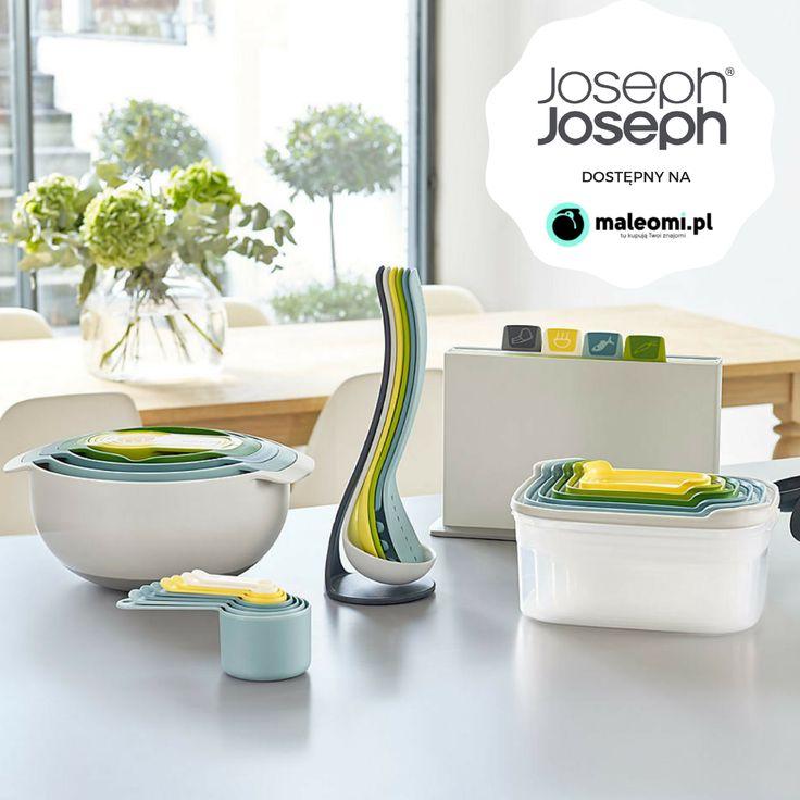 Joseph Joseph dostępny na www.maleomi.pl #Joseph #josephjoseph #maleomipl #kuchnia #wyposażenie #wnętrza #funkcjonalne #mieszkanie
