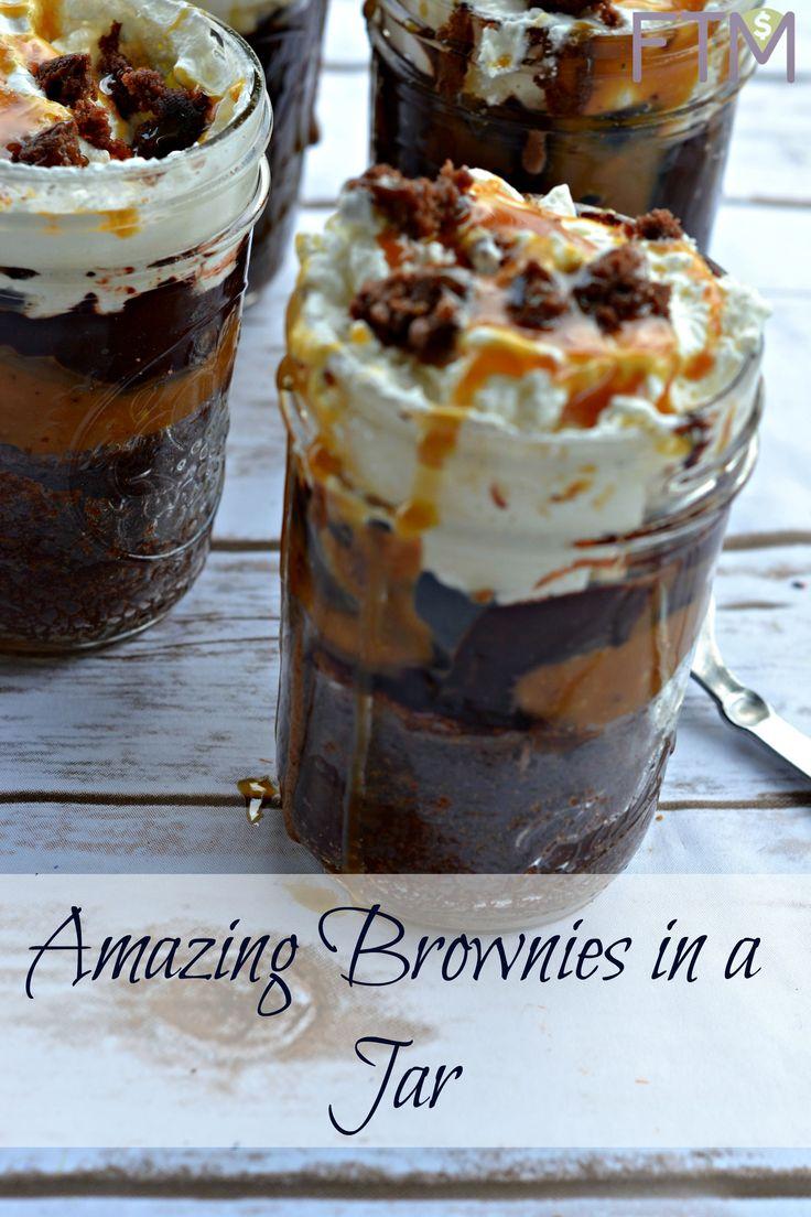 Amazing Brownies in a Jar