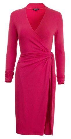 Dresses for Women Over 50   wrap dress for women over 50 image