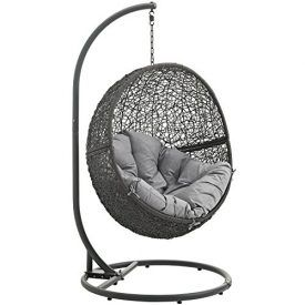 Escape to an exotic island of serenity with the cloak swing chair. Made with a luxurious synthetic rattan weave & plush all-weather fabric cushion, cloaks make it easy to immerse yourself in a good book. Cloak comes with a sturdy powder coated steel frame & hanging chain apparatus that works well to enliven your patio, […]