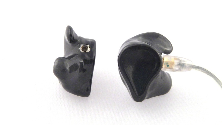 Get your in ear monitors customized today by www.inearcustom.com for only $119 In Ear Custom Black Shure SE535   http://www.inearcustom.com
