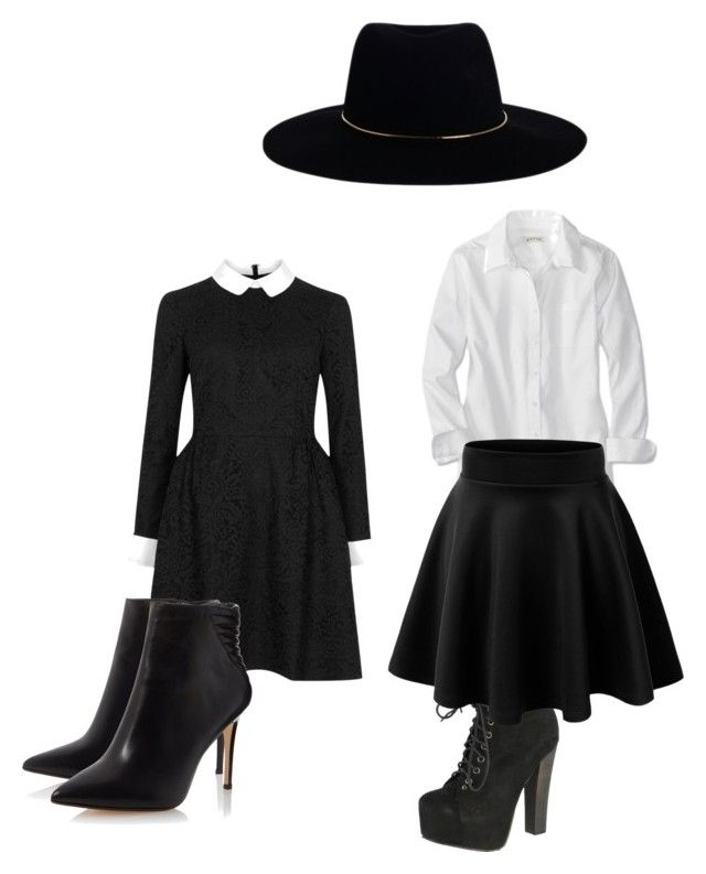 """""""American horror story: coven.  Fashion"""" by uniuqeme2003 on Polyvore featuring Breckelle's, Zimmermann and Jill by Jill Stuart"""