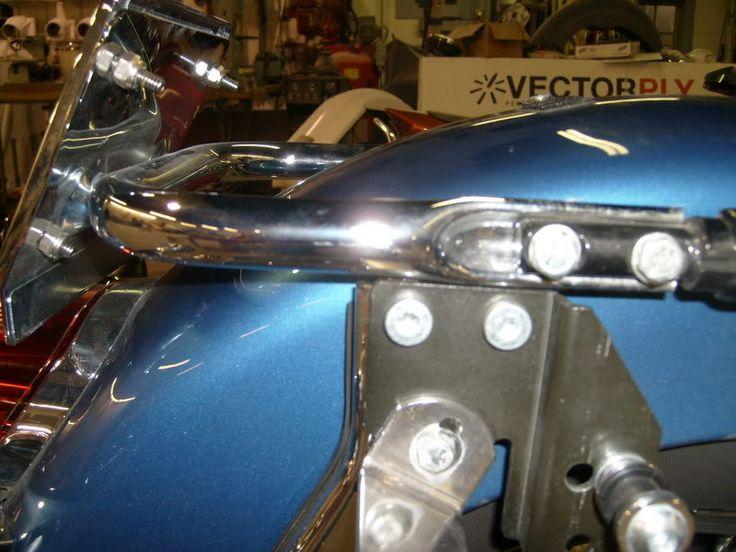License Plate Eliminator Bracket | Bad Dad | Custom Bagger Parts for Your Bagger
