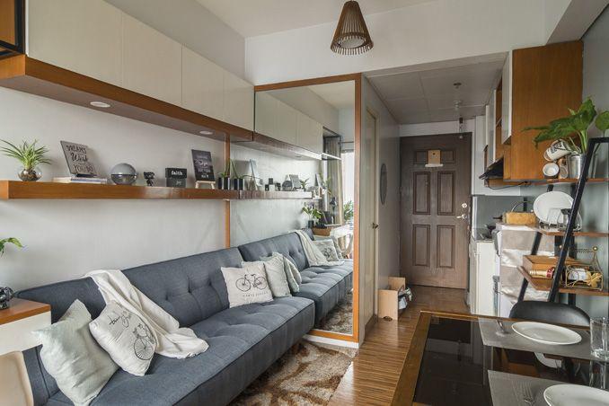 A 21sqm Contemporary Studio Unit Condo Interior Design Condo