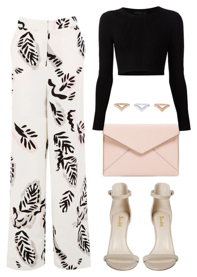 """Untitled #1346"" by susannem ❤ liked on Polyvore featuring Rebecca Minkoff, Cushnie Et Ochs and Warehouse"