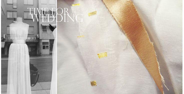 TIME FOR WEDDING - Syr just nu 2 brudnäbbsklänningar till en väns bröllop som kommer att äga rum i slutet av Oktober. Bröllopsfotografering är också bokat, redan denna månad!