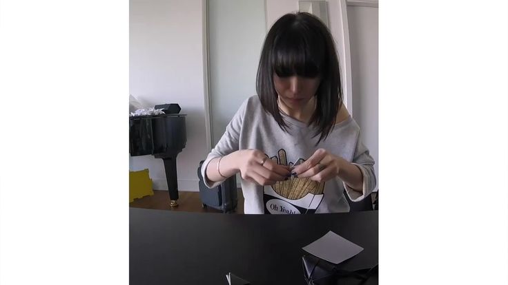 During the design process Alice began spontaneously folding paper into a gorgeous #origami. Everyone was excited about it, so we decided to turn it into her signature leather tag, featured on every one of her products. #jostxalicesaraott #alicesaraott #design #classicalmusic #origami #art #folding