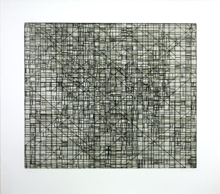 Brice Marden 'Untitled', 1973–9 © ARS, NY and DACS, London 2015