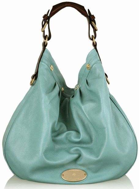 Mulberry Mitzy Hobo Bag in Turquoise