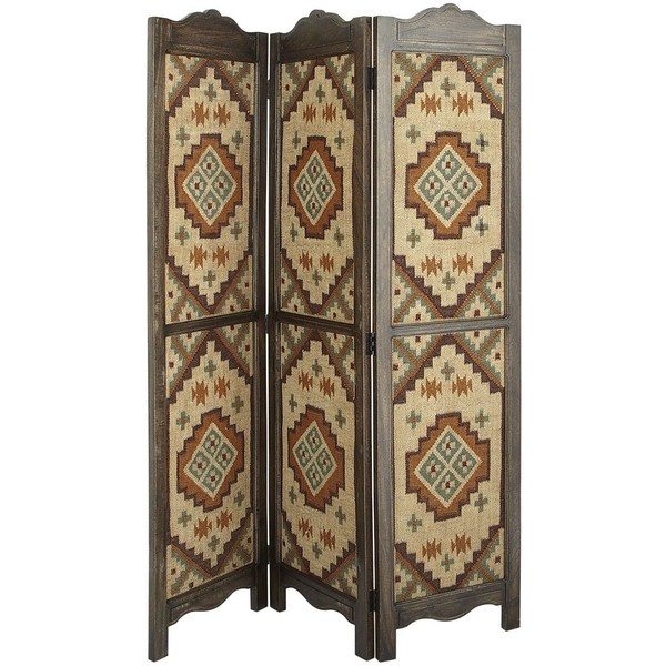 Pier One Kilim Screen ($200) ❤ liked on Polyvore