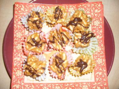 Burizony v karamelu s čokoládou