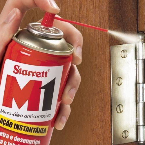 MICRO-ÓLEO ANTICORROSIVO M1 STARRETT, 300ml/200g AÇÃO INSTANTÂNIA - mgferragens