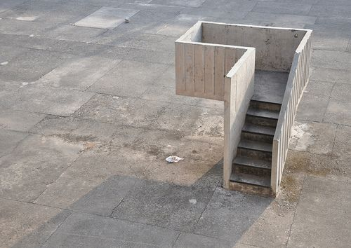 nnmprv:  (via speaker's pulpit   Flickr - Photo Sharing!) pulpit of the open hand monument, chandigarh, india. architect: le corbusier. prop...
