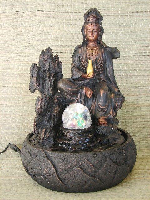 Water Fountain with Guan Yin