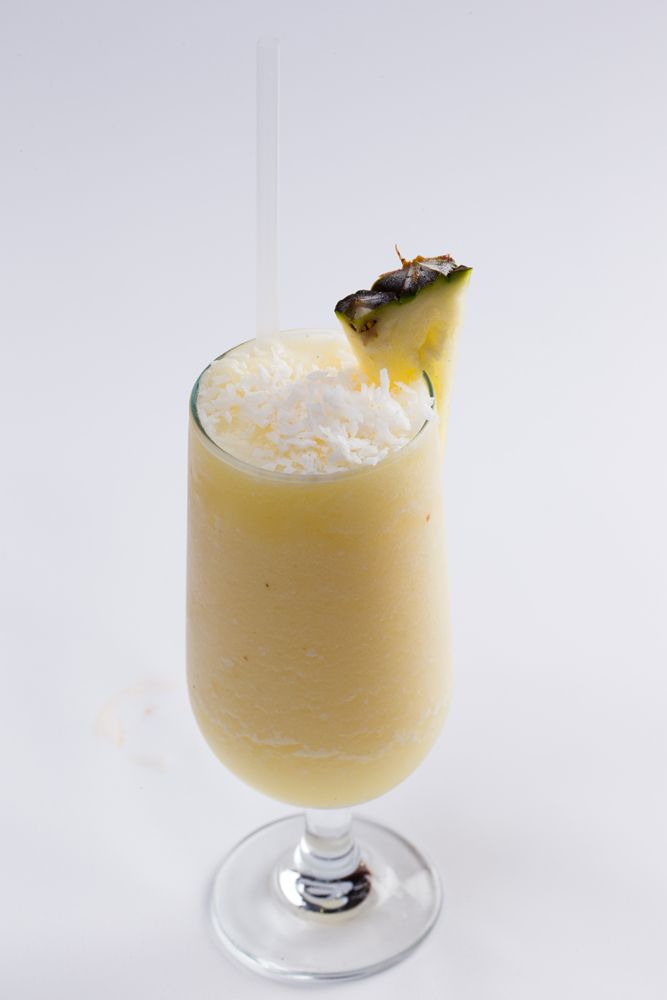 The famous Coconut and Pineapple delight.