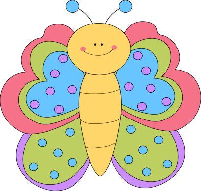 Pretty Butterfly Clip Art - Pretty Butterfly Image