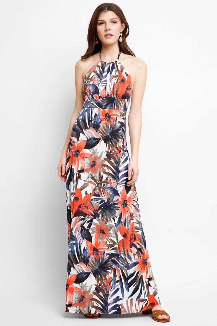 Abbeline Cabos Halter Maxi Dress | South Moon Under