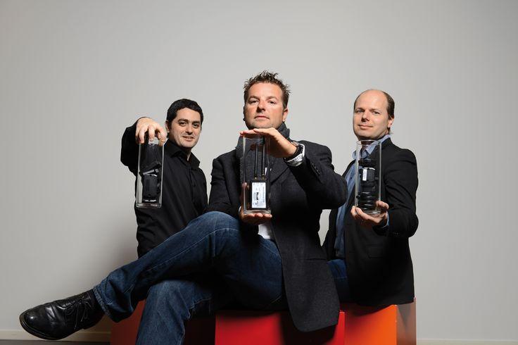 Agorabee SA. Louis Harik, Pierre-Alexandre Nuoffer et Jari Cuity. © Olivier Evard