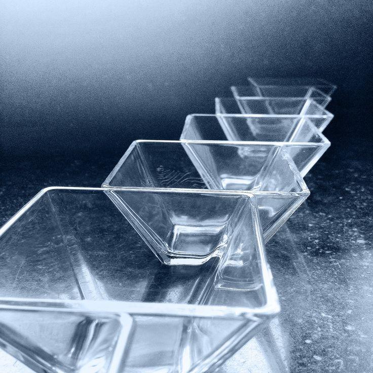 Glazen schaaltjes