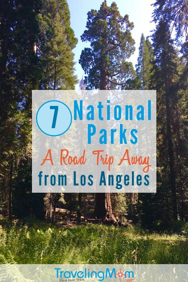 Parques nacionais a uma viagem de carro de Los Angeles   – California