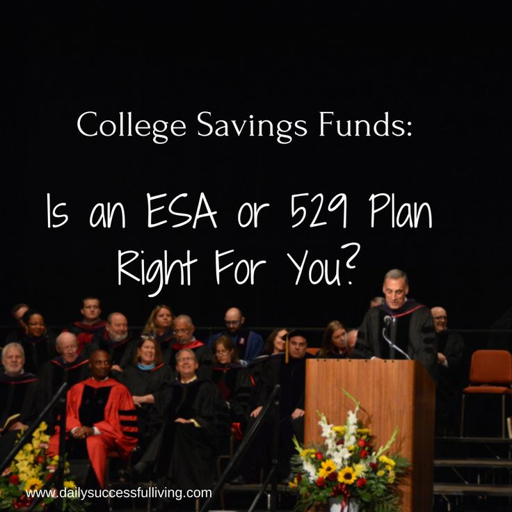 College Savings Fund: Is an ESA or 529 Plan right for you?