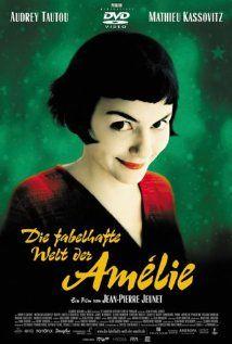AMÉLIE.  Director: Jean-Pierre Jeunet.  Year: 2001.  Cast: Audrey Tautou, Mathieu Kassovitz and Rufus