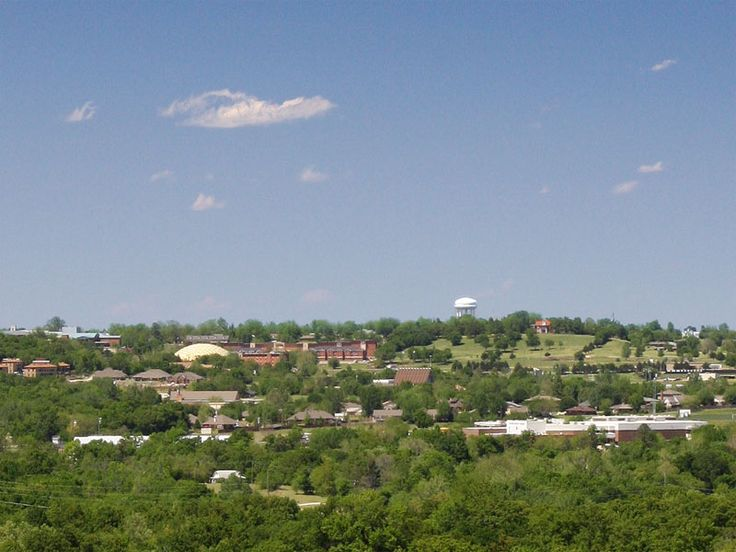Ada, Oklahoma...born here in 1963, moved to Texas in 1986, returned in 2006 to begin business in Tulsa.