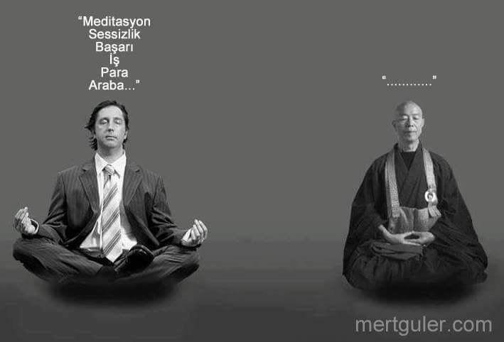 Konuşmamak sessizlik değildir... #yoga #sessizlik #meditasyon #mertgüler
