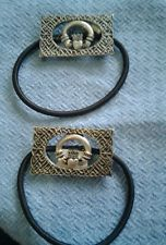 Celtic Hair Ties Claddagh Knot Design Set