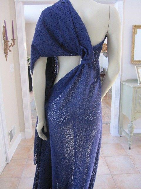 SALE...designer fabric lace fabric purple lace by fabricniche