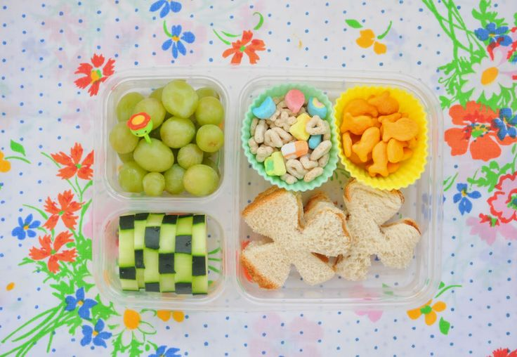 a pretty cool life.: simple bento lunches for St. Patrick's Day