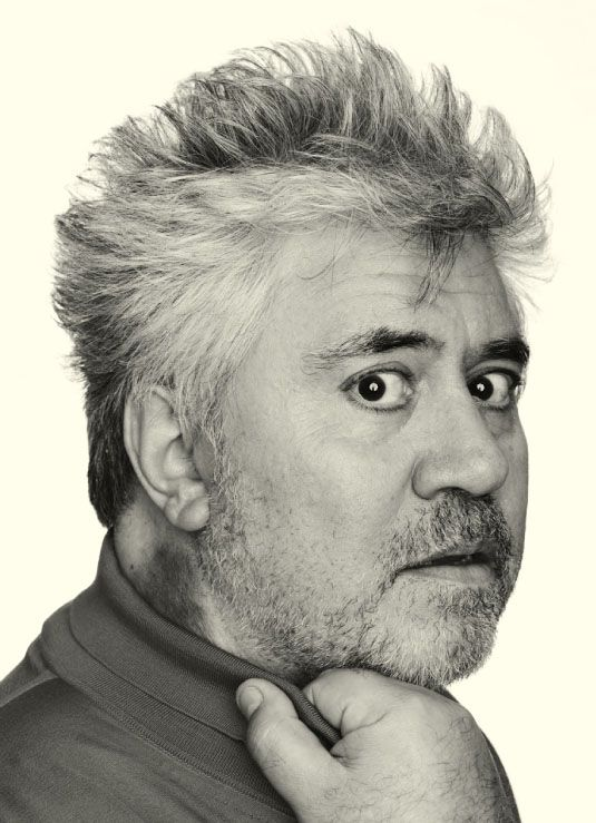 Pedro Almodovar Caballero (1949) - Spanish film director, screenwriter, producer and former actor. Photo by Jason Bell