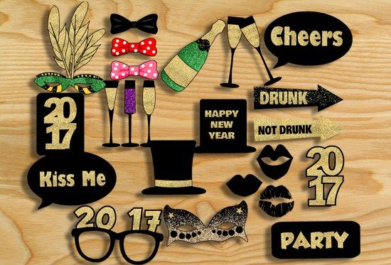 Here are more than 20 adorable and Free Printable New Year 2017 Photo Booth Props that you can print for your new year party. These props are perfect for teen's new year party and adults new …