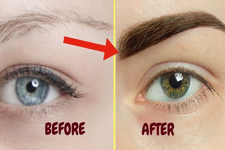 How To Make Eyebrows Grow Faster Overnight (8 Tips | How ...
