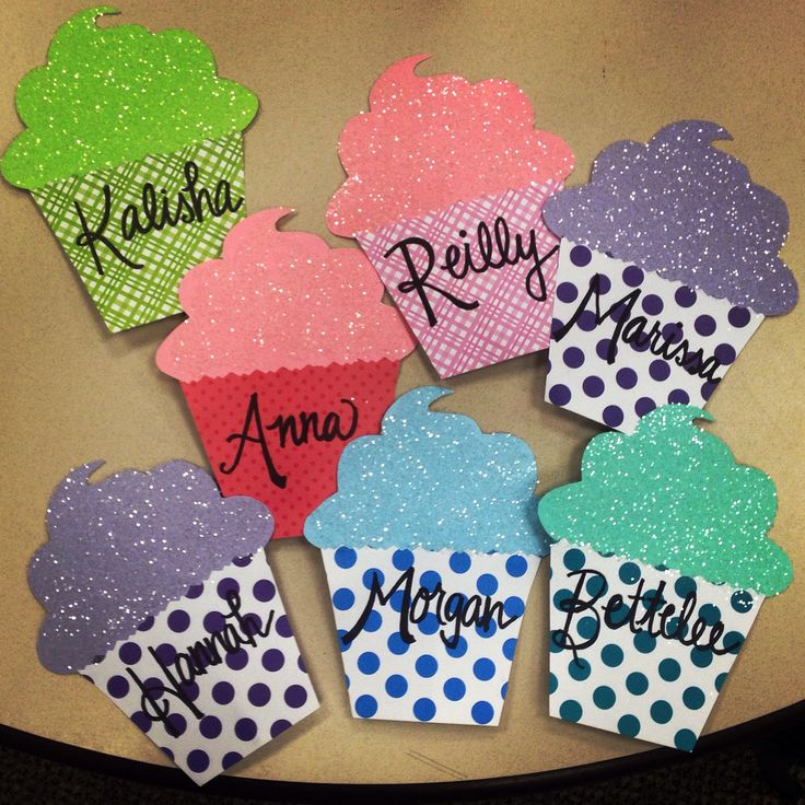 Cupcake door decs for my sweet residents! #reslife