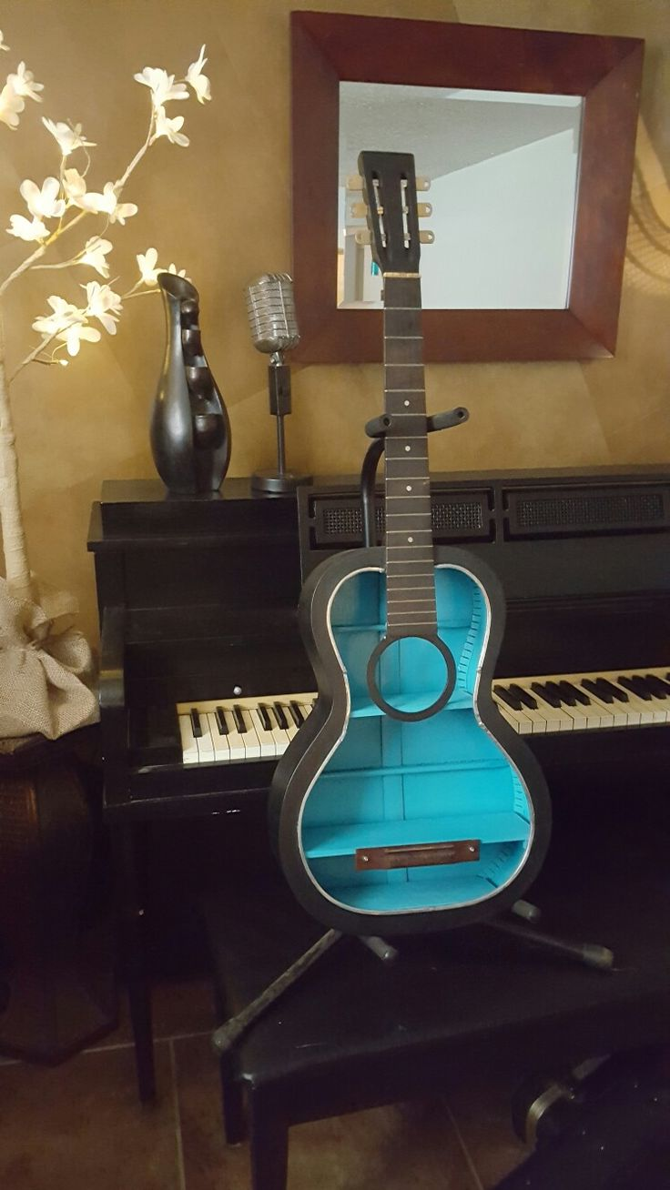 25 best ideas about guitar shelf on pinterest music for Music bedroom furniture