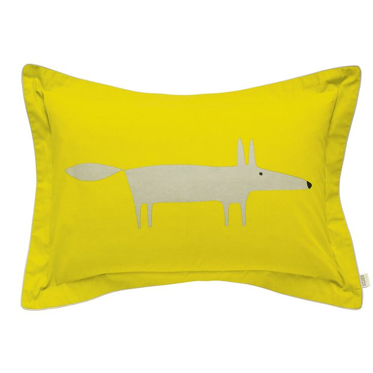 Discover+the+Scion+Mr+Fox+Oxford+Pillowcase+at+Amara