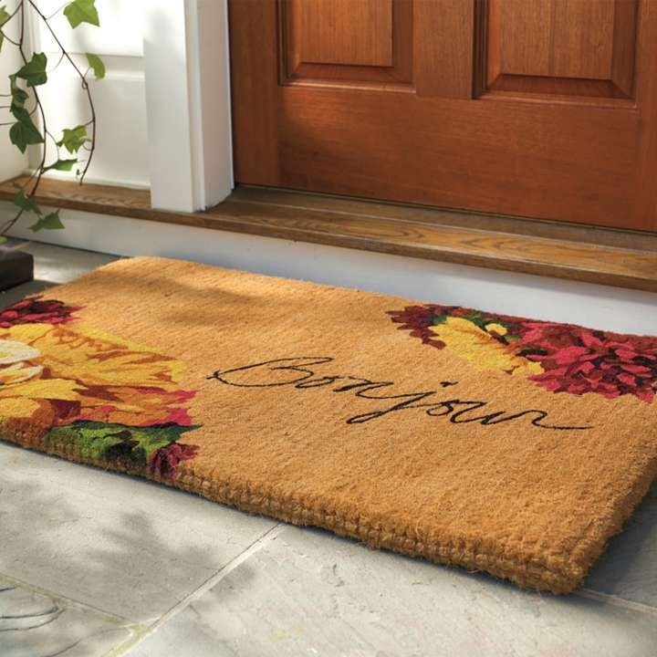 Autumn Bonjour Coco Door Mat Rugs For The Home Pinterest