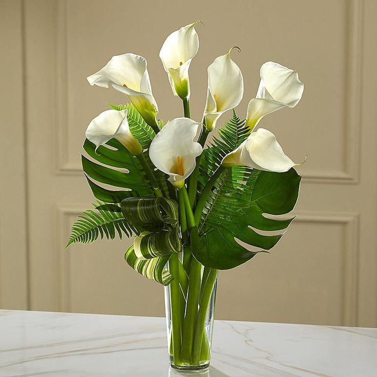 calla lily flower arrangements - Google Search