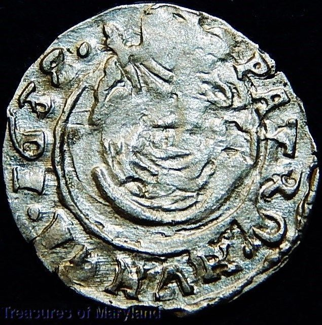 EXCELLENT! 1658/37 MARY HOLDING BABY JESUS HUNGARIAN DENAR! sku #IW1