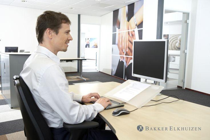 Support écriture | Porte copies Multirite Bakker Elkhuizen, au bureau, boutique ergonomique, spécialiste du siège ergonomique
