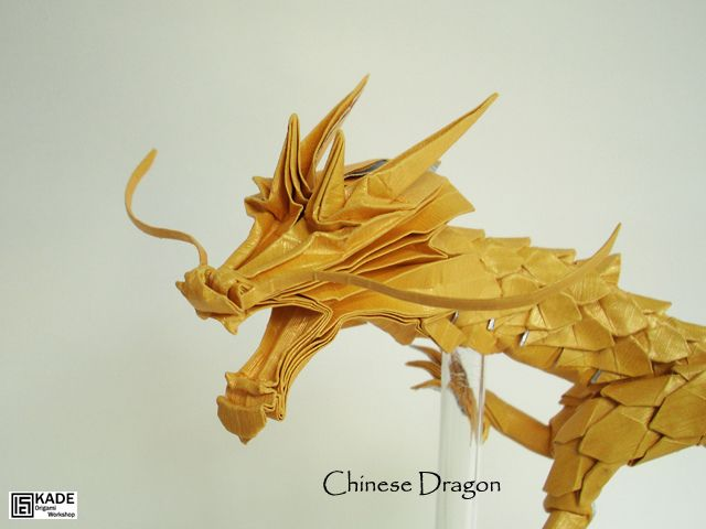 how to make a paper chinese dragon