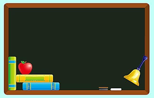Vector Cartoon Chalkboard School Education Goruntuler Ile