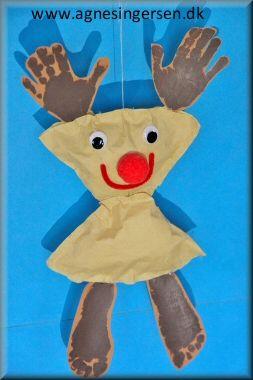 Rensdyret er lige fløjet ind på bloggen :) Vejledningen til rensdyret er lige her:   http://agnesingersen.dk/blog/rensdyr2016 :) Husk at give mig noget credit når du bruger mine ideer <3  #Rensdyr #diy #Rudolf