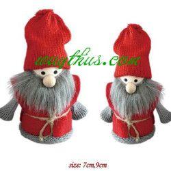 Christmas Santa And Angel Dolls