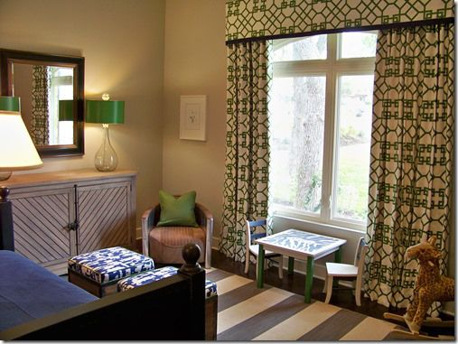 Navy blue and kelly green home kids rooms pinterest for Kelly green decor